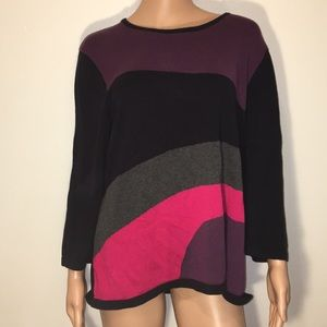 Lovely Color Block Sweater!